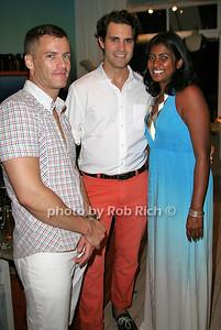 Thad Thomas, Curtis Clarizio, Veena Kahn photo by Jakes van der Watt for Rob Rich/SocietyAllure.com © 2011 robwayne1@aol.com 516-676-3939