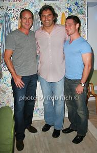 Josh Guberman, Michael Wydyka, Choklin photo by Jakes van der Watt for Rob Rich/SocietyAllure.com © 2011 robwayne1@aol.com 516-676-3939