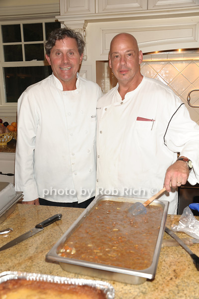 Chef Michael Maenza, Chef George Rhode IV<br /> photo by Rob Rich/SocietyAllure.com © 2011 robwayne1@aol.com 516-676-3939