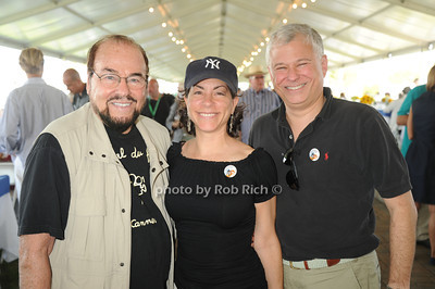 James Lipton, Meryl Rosofsky, and Stuart Coleman attend  day 4 of the Hampton Classic Horseshow (September 3, 2011)