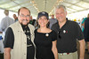 James Lipton, Meryl Rosofsky, and Stuart Coleman attend  day 4 of the Hampton Classic Horseshow (September 3, 2011)