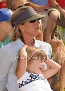 Enjoying   kids day on  day 4 of the Hampton Classic Horseshow (September 3, 2011)