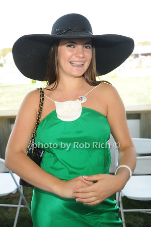 Yana Ankuvinova attends  day 4 of the Hampton Classic Horseshow (September 3, 2011)