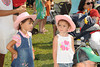 Enjoying Kid's Day  on  day 4 of the Hampton Classic Horseshow (September 3, 2011)