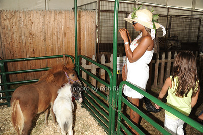 Petting Zoo  on  day 4 of the Hampton Classic Horseshow (September 3, 2011)