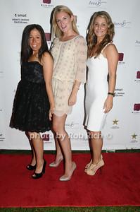 Alissa Mintz, Sarah Arison, Marissa Broxmeyer photo by Rob Rich © 2009 robwayne1@aol.com 516-676-3939