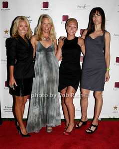 Kelly Ripa, Christina Muse, Minnie Burnside, Leann Wagner photo by Rob Rich © 2009 robwayne1@aol.com 516-676-3939