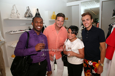 Darrell James, Richard Walsh, Carolee Yuvienco, Elliott Foote  photo  by Rob Rich © 2009 robwayne1@aol.com 516-676-3939