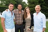 Reichen Lehmkuhl, Derrick Bradford, Margaux Keitel and Robby Browne  attend the Midsummer Night Drinks to Benefit God's love We Deliver at the home of Jeff Pfeifle, (May 29,2011)