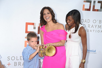 trumpet player, Soledad O'Brien, guest photo by Rob Rich/SocietyAllure.com © 2011 robwayne1@aol.com 516-676-3939