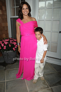 Soledad O'Brien, son Charlie Raymond photo by Rob Rich/SocietyAllure.com © 2011 robwayne1@aol.com 516-676-3939
