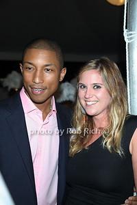 Pharrell Williams, Ms. Reinhard photo by Rob Rich/SocietyAllure.com © 2011 robwayne1@aol.com 516-676-3939
