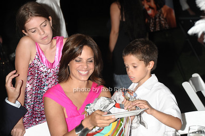 daughter, Soledad O'Brien, son Charlie Raymond photo by Rob Rich/SocietyAllure.com © 2011 robwayne1@aol.com 516-676-3939