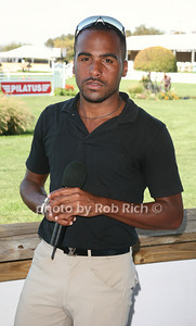 KiJuan Minors sang  The National Anthem at the opening day of the Hampton Classic Horseshow (August 31, 2011)