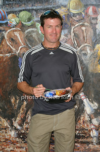 Tom Myott-Artist attends the opening day of the Hampton Classic Horseshow (August 31, 2011)