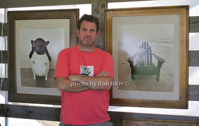 """Jim Dratfield from """"Petography"""" attends the opening day of the Hampton Classic Horseshow (August 31, 2011)"""