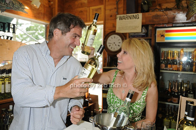 Mario Singer, Ramona Singer at the Ramona Singer Wine signing at the Hebert and Rist Wine Shop in Southampton on 6-18-11. photo  by Rob Rich © 2011 robwayne1@aol.com 516-676-3939