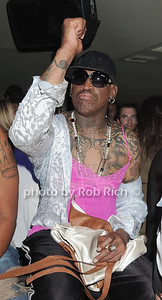 Dennis Rodman at his  birthday party at AXE Lounge (June 4,2011)