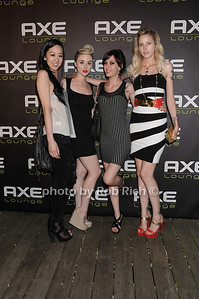 Jessica Hwang, Alicia Nett, Lauren Peralta, and  Jessica Chang attend Dennis Rodman's birthday party at AXE Lounge (June 4,2011)