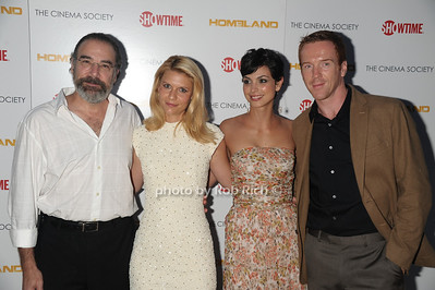 Mandy Patinkin, Claire Danes, Morena Baccarin, Damian Lewis photo by Rob Rich/SocietyAllure.com © 2011 robwayne1@aol.com 516-676-3939