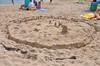 a sand village