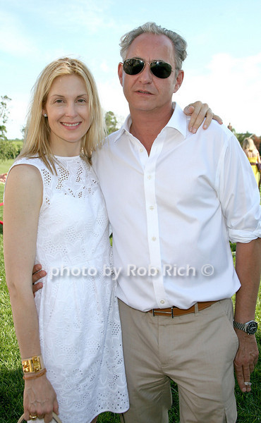 Kelly Rutherford, Markus Ernst<br /> at the Second Annual Charity Polo Classic to benefit Rally for Kids with Cancer at Private Polo field (July 2, 2011)