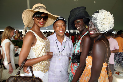 Millen Magese, Russell Simmons, Imany Doucoure, Mari Malek