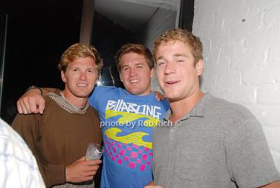 Drew Crockett, Tucker Crockett and Pete Trombino