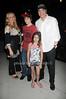 Gianna Palminteri, Dante Palminteri, Gabriella Palminteri, and Chazz Palminteri attend the  Cancer Schmancer Family Day At East Hampton Studio (June 19,2011)
