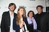 David Nugent, Lauren Bush Lauren, Karen Arikian, and Michael Rispoli attend  the Clarins celebrates Lauren Bush Lauren and FEED at HIFF at Nick and Tony's restaurant (October 15, 2011)