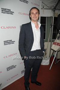 Jim Loach attends the Clarins celebrates Lauren Bush Lauren and FEED at HIFF at Nick and Tony's restaurant (October 15, 2011)