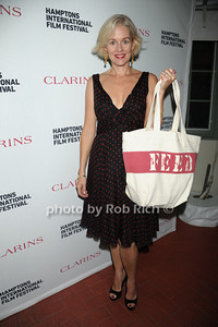 Penelope Ann Miller attends the Clarins celebrates Lauren Bush Lauren and FEED at HIFF at Nick and Tony's restaurant (October 15, 2011)