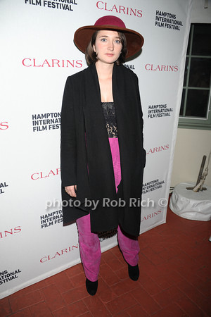Stine Fischer Christensen attends the Clarins celebrates Lauren Bush Lauren and FEED at HIFF at Nick and Tony's restaurant (October 15, 2011)