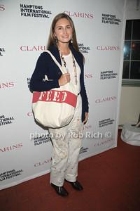 Lauren Bush Lauren attends the Clarins celebrates Lauren Bush Lauren and FEED at HIFF at Nick and Tony's restaurant (October 15, 2011)