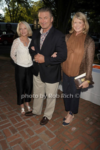 Ruth Appehoff, Alec Baldwin, and  Martha Stewart attend the Guild Hall Summer Gala at Guild Hall (August 12, 2011)