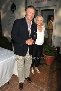 Alec Baldwin and  Ruth Appehoff attend the Guild Hall Summer Gala at Guild Hall (August 12, 2011)