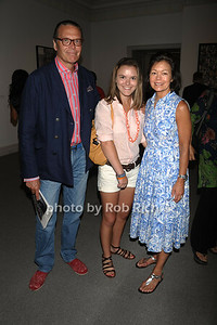 Andrew Fabricant, Alexandra Fabricant  and Laura Paulson attend the Guild Hall Summer Gala at Guild Hall (August 12, 2011)