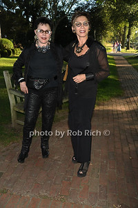 Janet Lehr and Vered attend the Guild Hall Summer Gala at Guild Hall (August 12, 2011)
