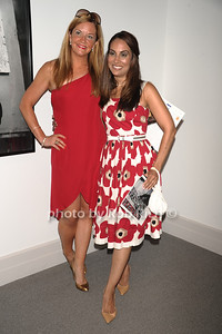 Kristin Darcy and Nisha Warfield attend the Guild Hall Summer Gala at Guild Hall (August 12, 2011)