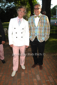 Mr.Silverberg, and Bob Morris attend the Guild Hall Summer Gala at Guild Hall (August 12, 2011)