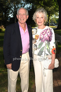 Mickie Strauss and Leila Strauss attend the Guild Hall Summer Gala at Guild Hall (August 12, 2011)
