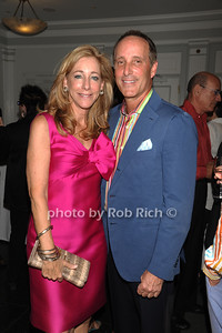 Rene Steinberg and Richard Steinberg attend the Guild Hall Summer Gala at Guild Hall (August 12, 2011)