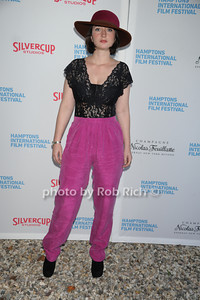 Stine Fischer Christensen attends the HIFF  Chairman's Reception at the residence of Stuart Match Suna.(October 15, 2011).