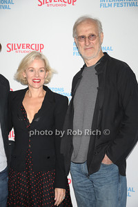 Penelope Ann Miller and James Cromwell attends the HIFF  Chairman's Reception at the residence of Stuart Match Suna.(October 15, 2011).