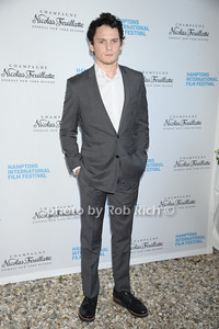 Anton Yelchin attends the HIFF  Chairman's Reception at the residence of Stuart Match Suna.(October 15, 2011).