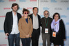 David Nugent, Susan Sarandon, Stuart Match Suna, Bob Balaban, Karen Arikian attend  the HIFF  Chairman's Reception at the residence of Stuart Match Suna.(October 15, 2011).