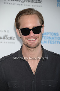 Alexander Skarsgard attends the HIFF  Chairman's Reception at the residence of Stuart Match Suna.(October 15, 2011).