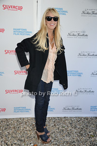 Dina Lohan attends the HIFF  Chairman's Reception at the residence of Stuart Match Suna.(October 15, 2011).