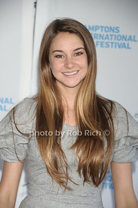 Shailene Woodley attends the HIFF  Chairman's Reception at the residence of Stuart Match Suna.(October 15, 2011).