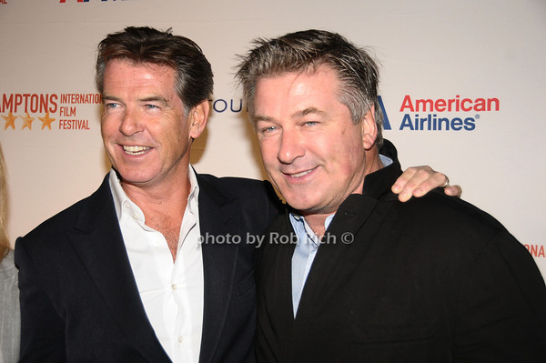 Pierce Brosnon, Alec Baldwin<br /> photo by Rob Rich © 2009 516-676-3939 robwayne1@aol.com
